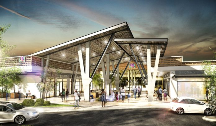 Artist's impression of Kumasi City Mall, Ghana.