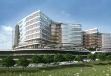 Exterior view of the new Gauteng office for Deloitte developed by Atterbury Property.